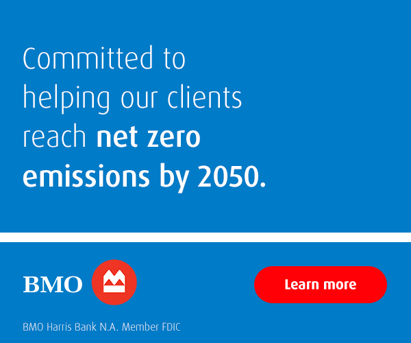 BMO is committed to helping our clients reach net zero emissions by 2050. Learn more.