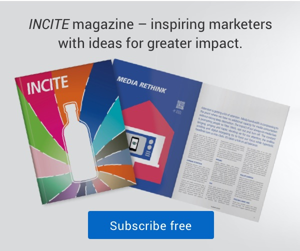 Canada Post INCITE magazine, inspiring marketers with ideas for greater impact - subscribe free