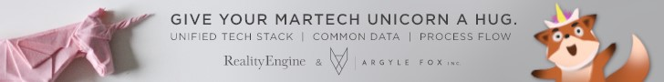 Give your martech unicorn  a hug. unified tech stack, common data, process flow